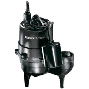 1/2 HP CAST IRON SUBMERSIBLE SEWAGE PUMP AUTOMATIC