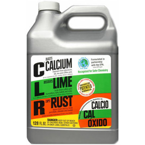 128 OZ CALCIUM, LIME, AND RUST  REMOVER (CLR)